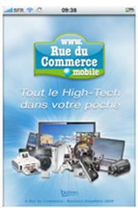 RueDuCommerce sur votre iPhone