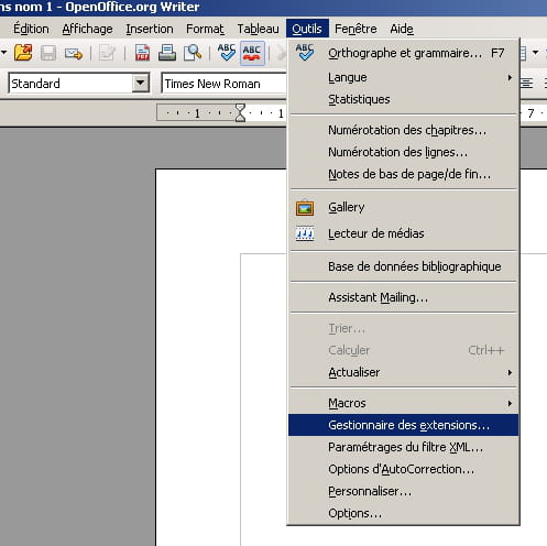 Openoffice un correcteur grammatical sous writer - Open office writer telecharger gratuit ...
