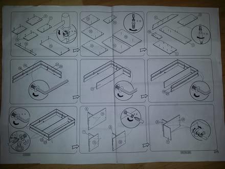 notice montage lit. Black Bedroom Furniture Sets. Home Design Ideas