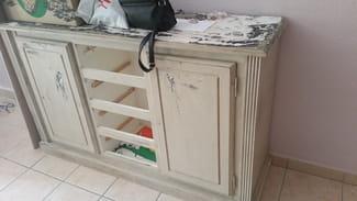 Decaper Un Meuble En Bois Peint Avec De La Glycero Résolu - Decaper un meuble en bois peint