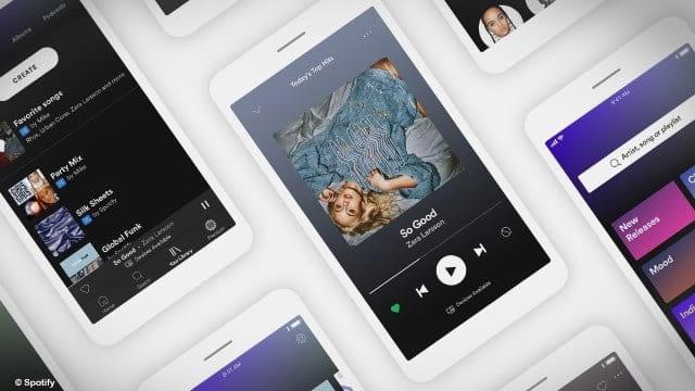Ecouter de la musique entre amis avec Spotify