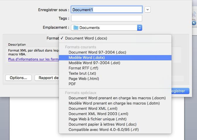 Dossier Modeles Utilisateur Word 2011 Mac Comment Ca Marche