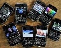 """""""Problème"""" pour certains usagers du BlackBerry en Europe, au MO et en Afrique"""