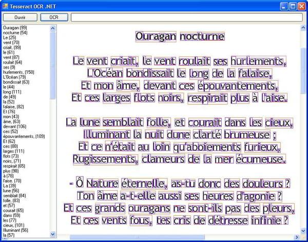 Visual Basic Vb Net Ocr Utilisation De Tessnet2 Dll
