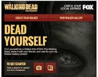 Dead Yourself, une application qui vous transforme en zombie