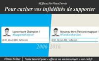 10 ans de Twitter : supprimer ses anciens tweets
