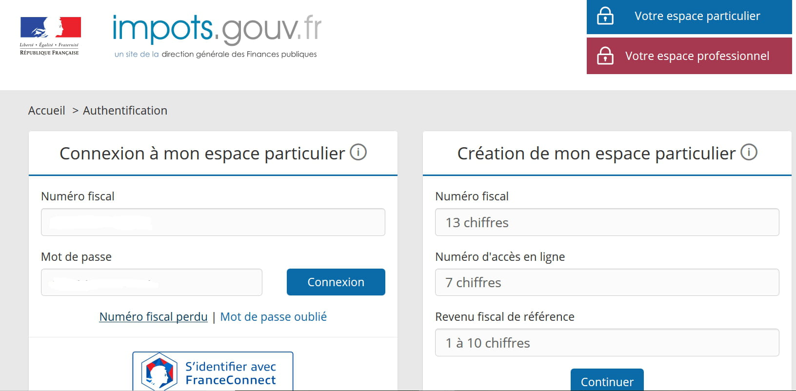 Impots Numero Declarant Resolu Forum Internet Reseaux Sociaux