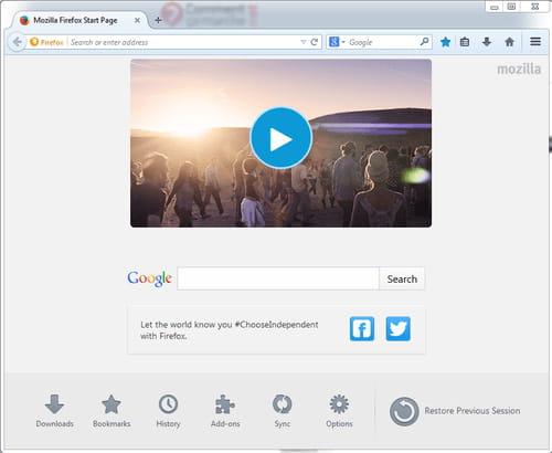 Télécharger Mozilla Firefox (gratuit)