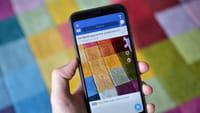 Snapchat crée un filtre Facebook