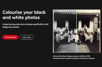 ColouriseSG : un site pour coloriser gratuitement des photos en N&B
