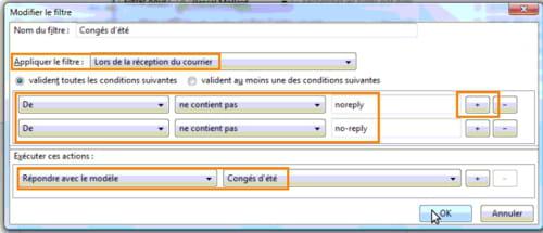Rediger Un Message Automatique Dans Outlook Thunderbird