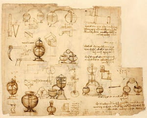 Le Codex Atlanticus de Léonard de Vinci accessible en ligne