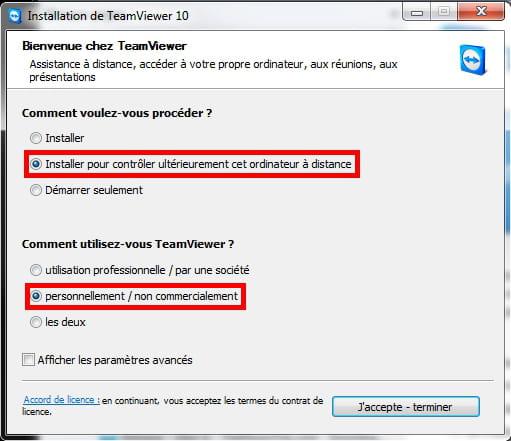 Contrôler un ordinateur à distance avec TeamViewer