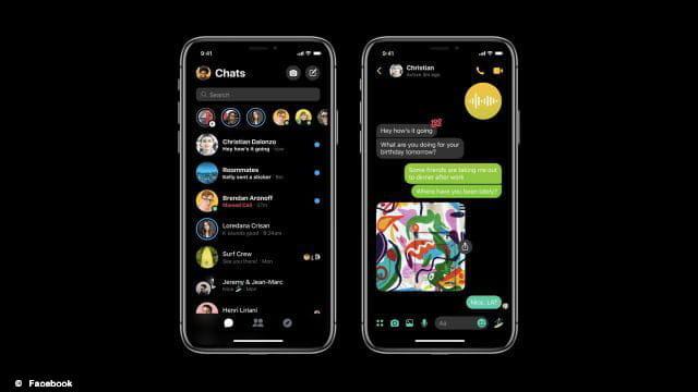 Activer le mode sombre de Messenger sur iOS et Android : un jeu d'enfant