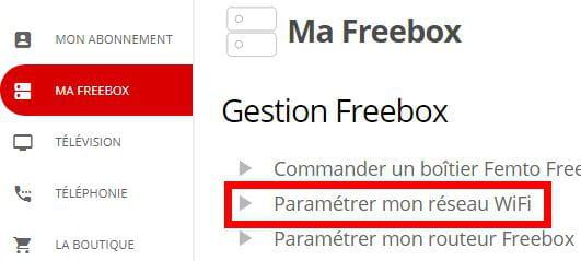 comment activer la wifi sur free