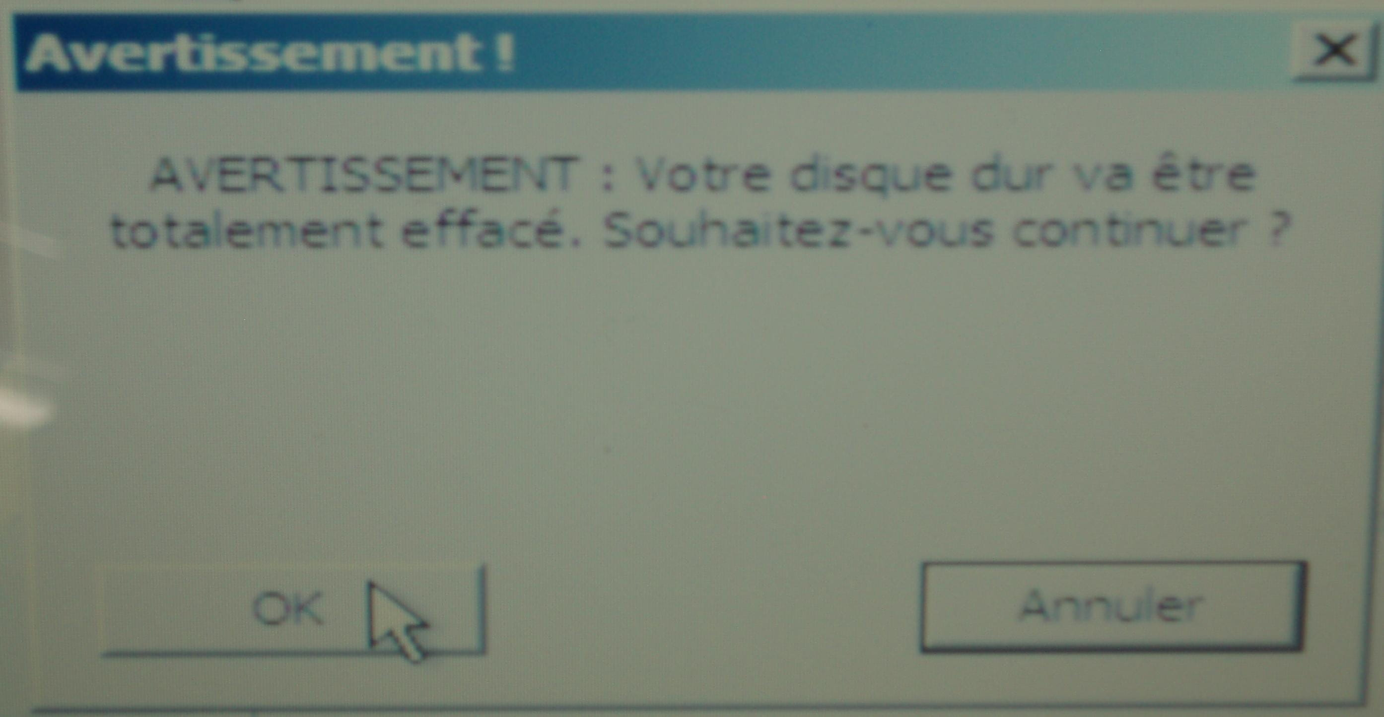 Comment Restaurer Son Ordinateur Windows Vista A L Etat D Usine