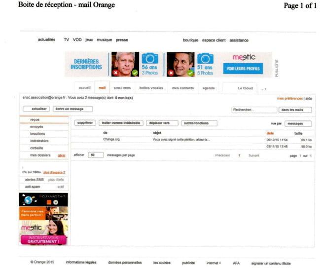 publicit s messagerie orange avec windows 10 r solu. Black Bedroom Furniture Sets. Home Design Ideas