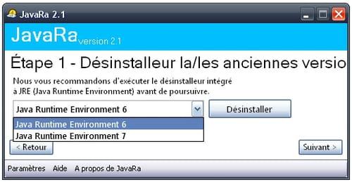 Supprimer Les Anciennes Versions De Java Avec Javara