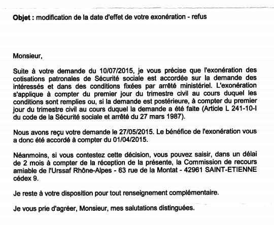 R troactivit exoneration cesu handicap - Exoneration taxe habitation si non imposable ...