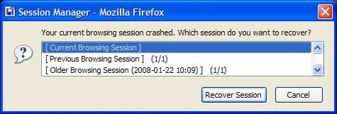 Comment Restaurer Automatiquement La Session Lors De L Ouverture De Firefox