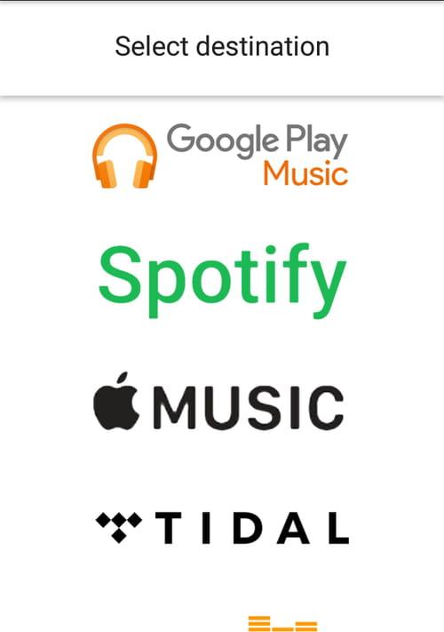 Transférer une playlist entre Spotify, Deezer, Apple Music et les autres services de streaming 190930_Stamp_4