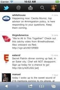 Refonte en profondeur du site mobile de Twitter