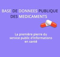 Une base de données grand public sur les médicaments