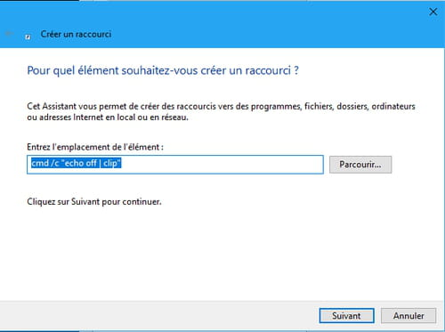 Vider le presse-papier de Windows