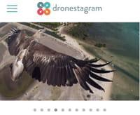 Sur iOS, Dronestagram en version application