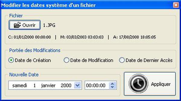 Delphi Pascal Modifier Les Dates De Creation De Modification Et