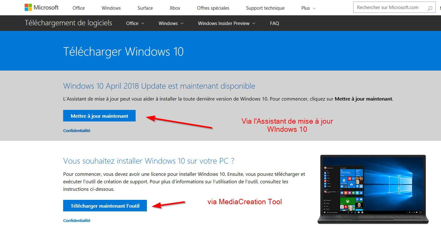 [Resim: mise-jour-Windows-10-1803.png]