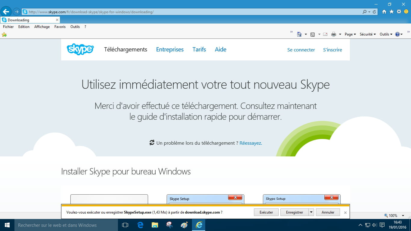 Probl me de t l chargement de logiciel sous windows 10 - Telecharger open office gratuit windows francais ...