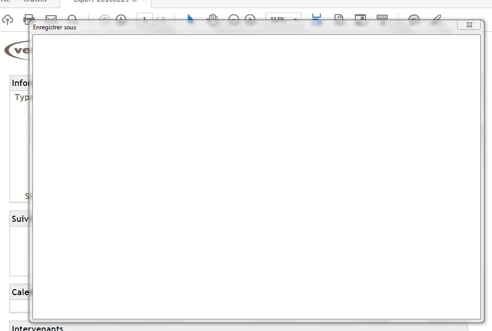 Impossible D Enregistrer Un Pdf Sous Adobe Reader Dc
