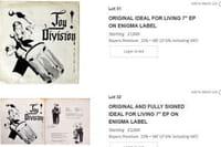 Peter Hook vend ses souvenirs de Joy Division aux enchères