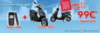 Pour l'achat d'un mobile, PhoneAndPhone.com offre un scooter pour 99 euros