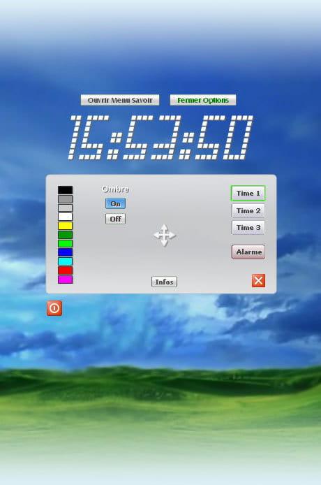T l charger time horloge gratuit - Horloge bureau windows 8 ...