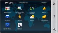 Le service Ovi Cartes devient gratuit sur le Nokia E71 et le Nokia E66