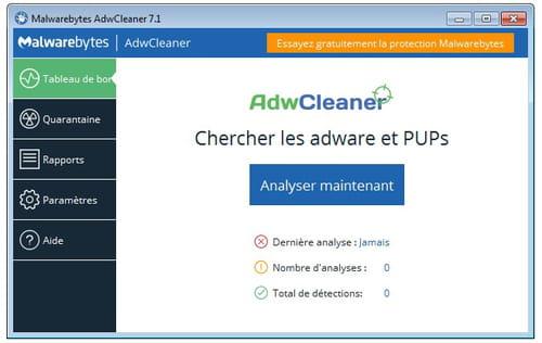 Télécharger AdwCleaner (gratuit)