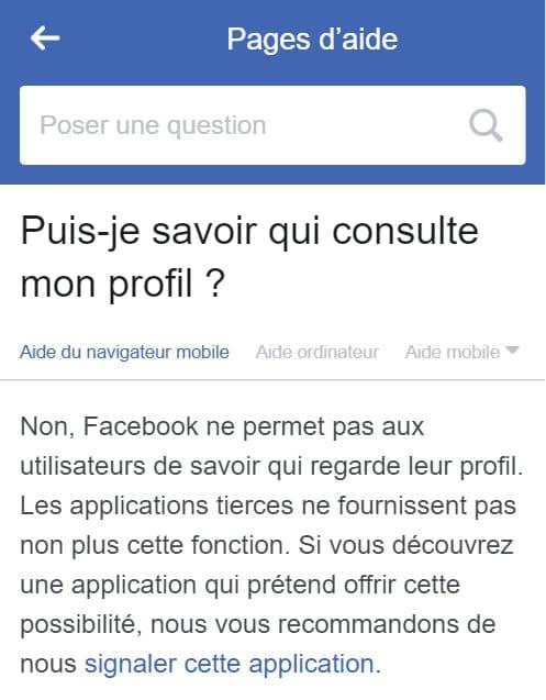 Savoir Qui Consulte Ma Fiche Facebook Resolu