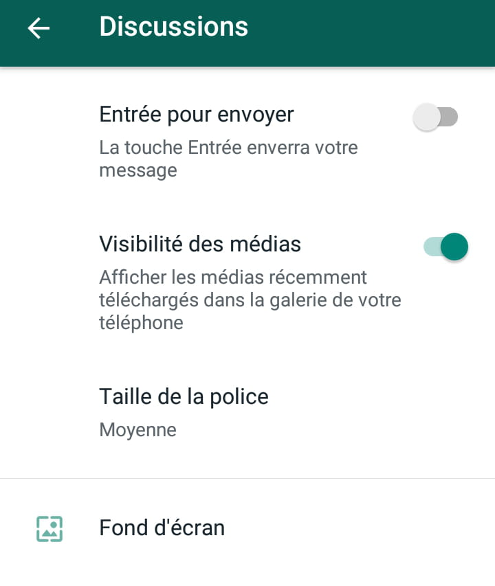 Personnaliser Le Fond D Ecran De Whatsapp Comment Ca Marche