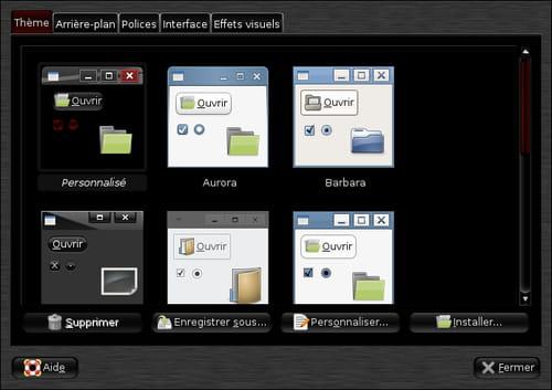Installation d'un thème sur Ubuntu Ultimate/Mint