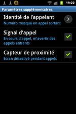 Samsung Galaxy Ace Comment Masquer Son Numéro