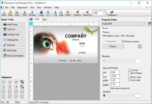 Tlcharger Business Card Designer Plus Gratuit