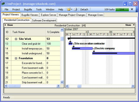 Telecharger liveproject free project viewer gratuit for Microsoft project viewer online