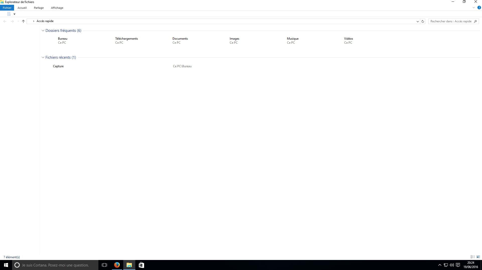 Plus d 39 ic nes sur le bureau r solu forum windows 10 - Raccourci bureau disparu ...