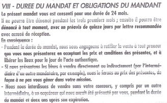 Mandat De Vente Sans Exclusivite En Cas De Demarchage Forum