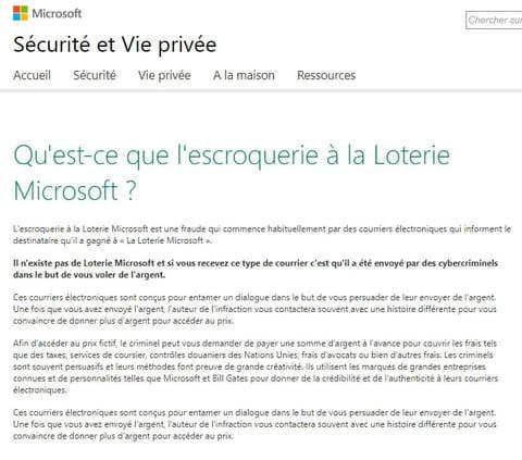 Loterie Microsoft Corporation Résolu Comment ça Marche
