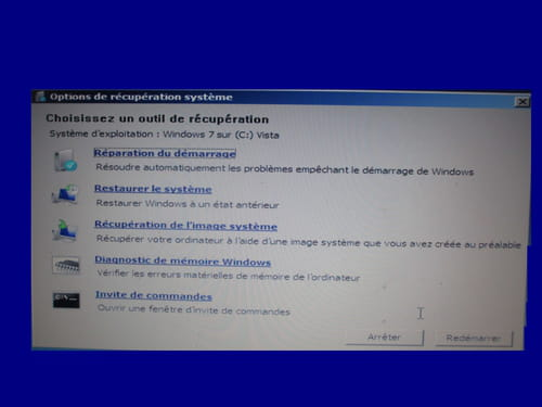 Cr er un disque de r paration sur windows 7 for Ouvrir fenetre plein ecran windows 7