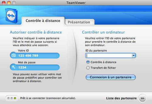 Télécharger TeamViewer Mac (gratuit)