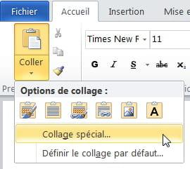 Word Copier Coller D Excel Dans Word